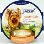 Консервы для собак Happy Dog паштет Телятина с рисом, 11x85г