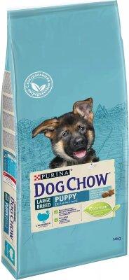 Сухой корм DOG CHOW Puppy Large Breed для щенков крупных пород с индейкой