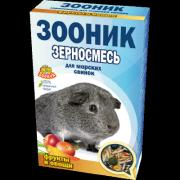 """Зерносмесь для морских свинок Зооник """"С фруктами и овощами"""" Стандарт, 400 г"""