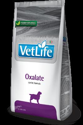 Сухой корм для собак Farmina Vet Life Oxalate для лечения и профилактики мочекаменной болезни уратного, оксалатного и цистинового типа
