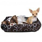 Лежак Trixie 38291 Marino для кошек и собак 46x46см, коричневый