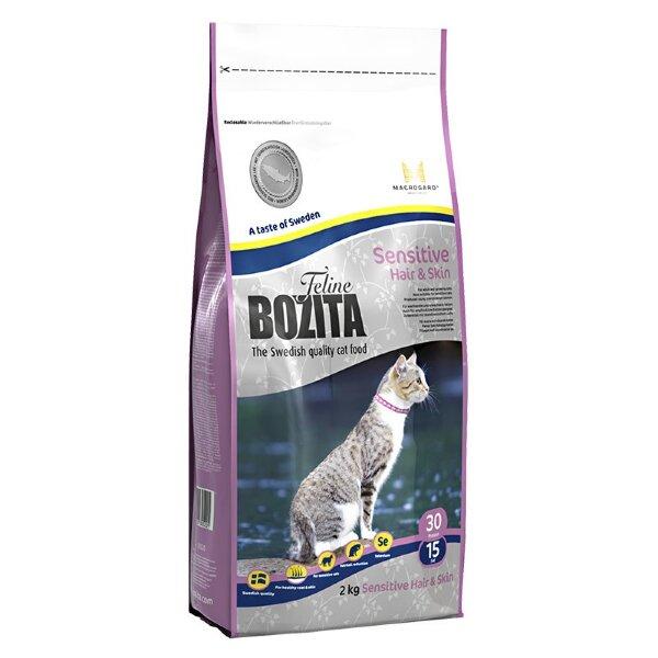 Сухой корм Bozita Feline Sensitive Hair & Skin для кошек с чувствительной кожей и шерстью