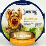 Консервы для собак Happy Dog паштет Индейка, 11x85г