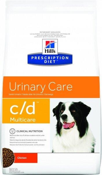 Сухой корм для собак Hill's Prescription Diet C/D Urinary Care для профилактики МКБ и струвитов