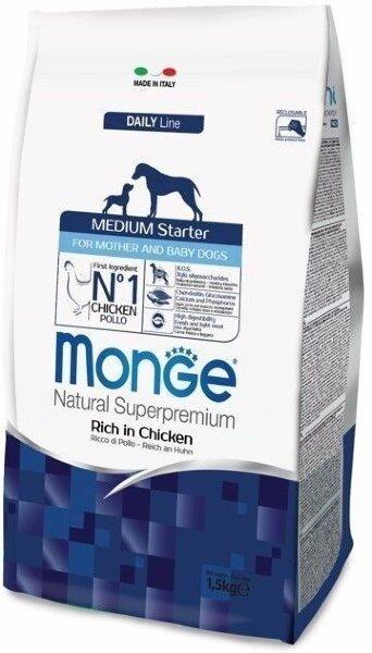 Сухой корм Monge Dog Medium Starter для щенков средних пород