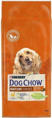 Сухой корм DOG CHOW Mature Adult для собак старше 5 лет, Курица