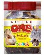 Лакомство для грызунов Little One фруктовая смесь, 200г
