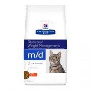 Сухой корм Hill's Prescription Diet m/d для лечения диабета и ожирения у кошек, 1,5кг