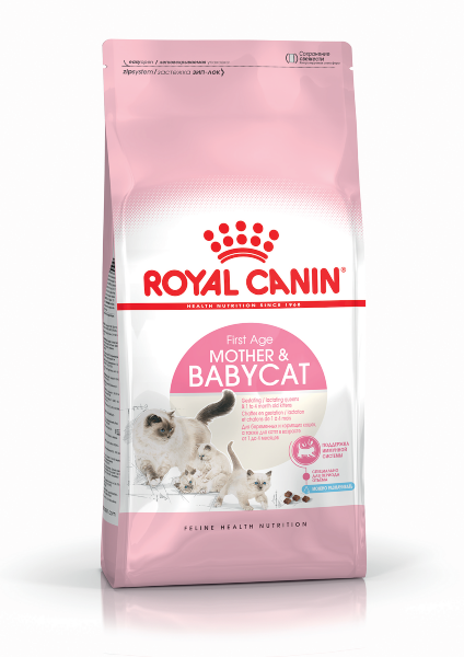 Сухой корм Royal Canin Mother & Babycat для котят до 4 месяцев