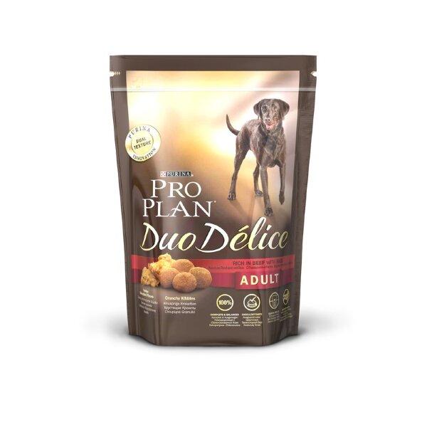 Сухой корм Pro Plan Duo Delice для собак, Говядина с рисом