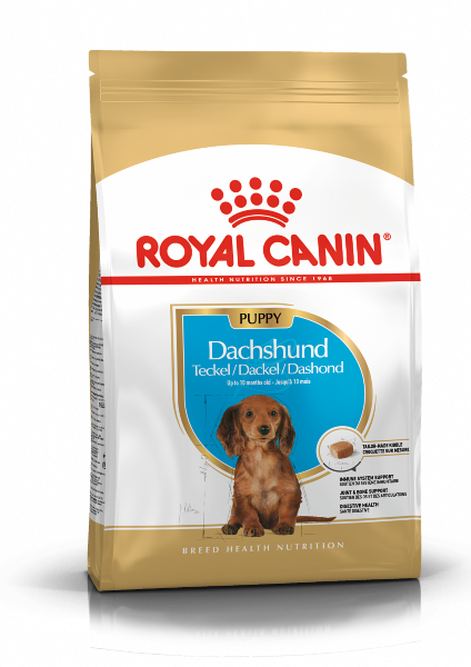 Сухой корм Royal Canin Dachshund Puppy для щенков Таксы, 1,5 кг
