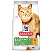 Сухой корм Hill's Science Plan Youthful Vitality для кошек старшего возраста, с курицей и рисом