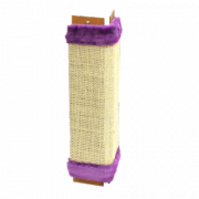 Когтеточка для кошек угловая Зооник ткань сизалевая 500х250х20мм