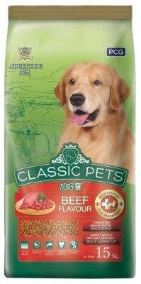 Сухой корм для собак Classic Pets Adult Dog Beef flavour, говядина, 15кг