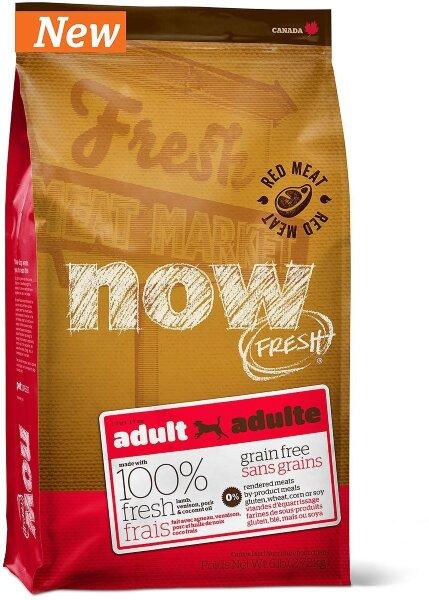 Сухой корм NOW Fresh Adult для взрослых собак беззерновой с ягненком и олениной