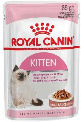 Паучи Royal Canin Kitten в соусе для котят