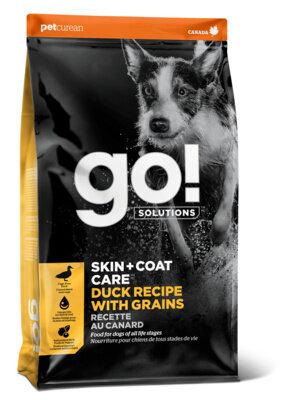 Сухой корм Go! Sensitivity+Shine Duck Recipe для щенков и собак с цельной уткой и овсянкой