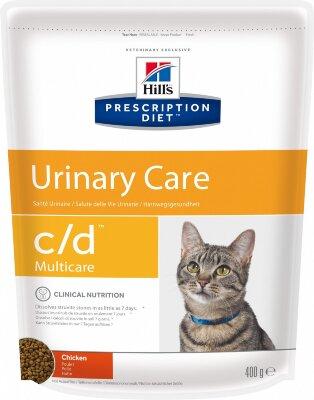 Сухой корм Hill's Prescription Diet C/D Urinary Care для профилактики МКБ и струвитов у кошек, с курицей