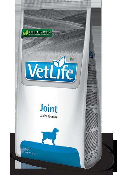 Сухой корм Farmina Vet Life Dog Joint при заболеваниях опорно-двигательного аппарата у собак