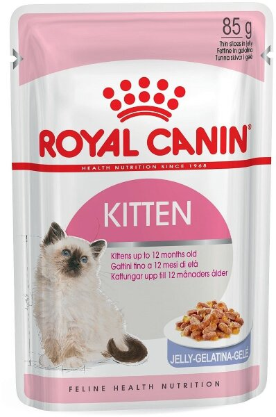 Паучи Royal Canin Kitten Instinctive в желе для котят