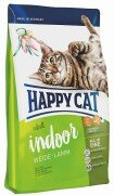 Сухой корм Happy Cat Adult Indoor Пастбищный ягненок для кошек живущих дома, 1,4кг