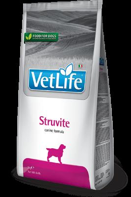 Сухой корм Farmina Vet Life Struvite при мочекаменной болезни у собак