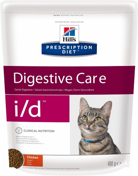 Сухой корм Hill's Prescription Diet i/d для лечения ЖКТ кошек