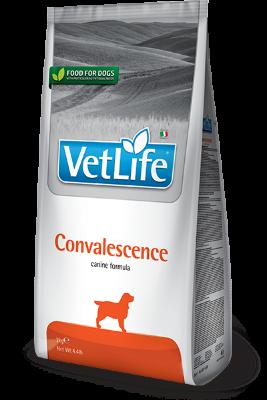 Сухой корм для собак Farmina Vet Life Convalescence в период выздоровления, 2кг