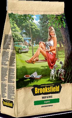 Сухой корм Brooksfield Puppy для щенков Говядина/рис