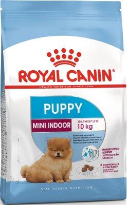 Сухой корм Royal Canin Mini Indoor Puppy для щенков мелких пород, живущих в помещении