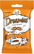 Лакомство Dreamies для кошек с курицей
