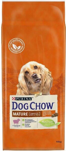 Сухой корм DOG CHOW Mature Adult для собак старше 5 лет, Ягненок