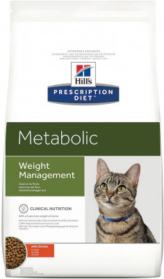 Сухой корм Hill's Prescription Diet Metabolic для коррекции веса кошек