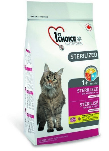 Сухой корм 1st Choice Sterilized для стерилизованных кошек