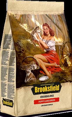Сухой корм Brooksfield Puppy Large Breed для щенков Курица/рис