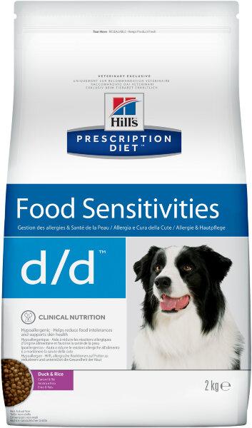 Сухой корм для собак Hill's Prescription Diet d/d для лечения пищевых аллергий (утка с рисом)