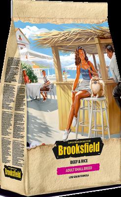 Сухой корм Brooksfield Adult Dog Small Breed для взрослых собак мелких пород Говядина/рис