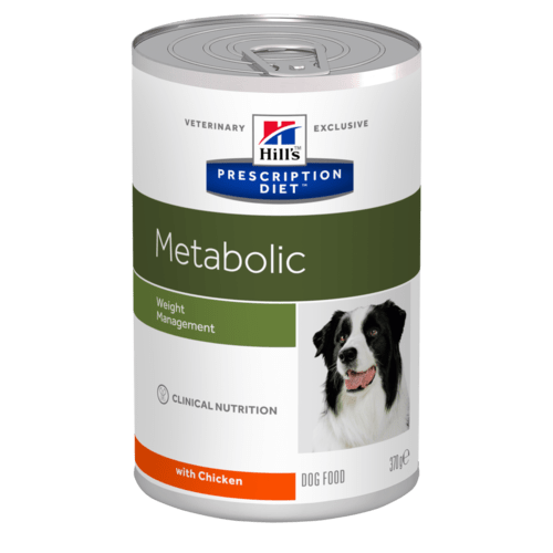 Консервы для собак Hill's Prescription Diet Metabolic для коррекции веса, 12шт x 370г