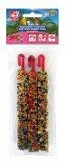 Зерновые палочки для птиц SEVEN SEEDS Эконом Ассорти: овощи, тропические фрукты, орех, 3шт