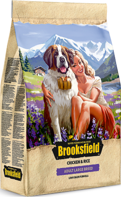 Сухой корм Brooksfield Adult Dog Large Breed для взрослых собак крупных пород Курица/рис