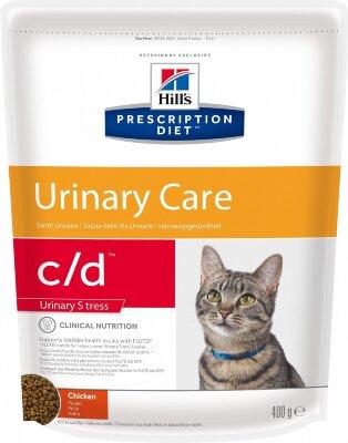 Сухой корм Hill's Prescription Diet c/d Urinary Stress для кошек при урологическом синдроме, стрессе