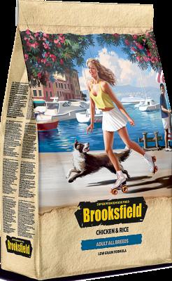 Сухой корм Brooksfield Adult Dog All Breeds Chicken для взрослых собак Курица/рис