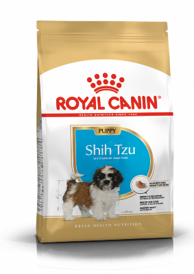 Сухой корм Royal Canin Shih Tzu Puppy для щенков породы Ши-Тцу, 500 г