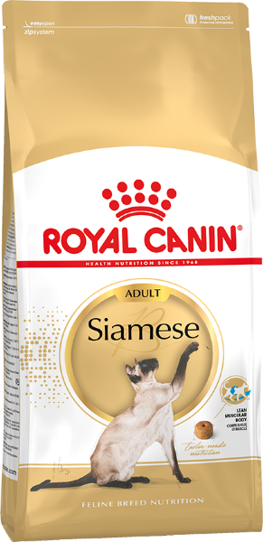 Сухой корм Royal Canin Siamese Adult для взрослых Сиамских кошек