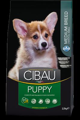 Сухой корм Farmina Cibau Puppy Medium для щенков средних пород