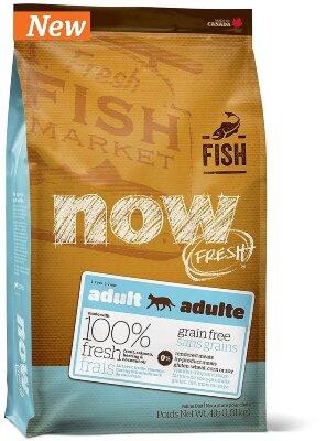 Сухой корм NOW Fresh Adult беззерновой для взрослых кошек с чувствительным пищеварением со вкусом форели и лосося