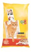 Сухой корм Friskies Adult для взрослых кошек  с мясом, курицей и печенью
