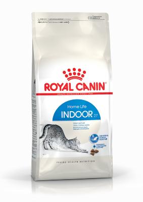 Сухой корм Royal Canin Indoor 27 для взрослых кошек, живущих в помещении