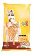 Сухой корм Friskies Adult для взрослых кошек с мясом и овощами