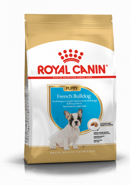 Сухой корм Royal Canin French Bulldog Puppy для щенков Французского Бульдога